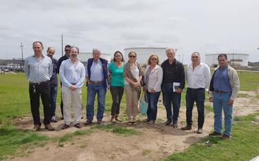 ANCAP y Ligas de Fomento de Maldonado mantienen reunión