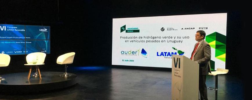 ANCAP participó del VI Congreso Latam Renovables