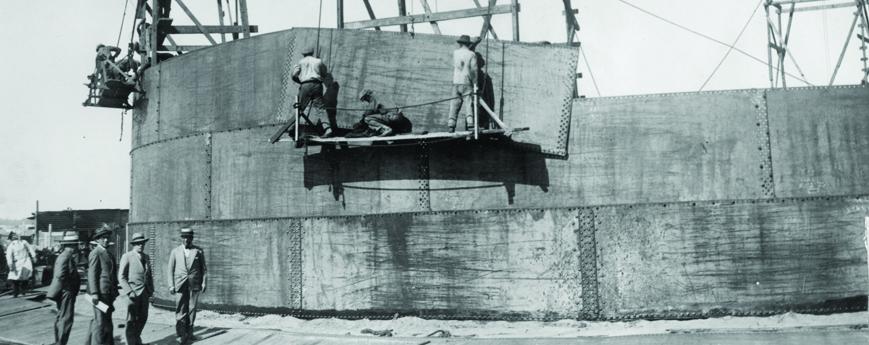 Historia de la Refinería